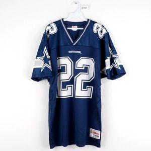 NOS 90s Dallas Cowboys Emmitt Smith #22 Jersey